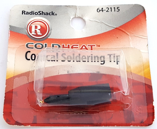 Conical Soldering Tip Replacement for Cold Heat Solder Tool 64-2115 Radio Shack