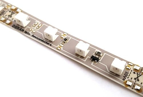 Yellow PCB LED Strip LINEARLightFlex Reel Osram OS-LM11A-Y1