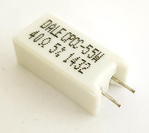 5.0W 40 Ohm Radial Wirewound Sandblock Resistor Dale®/Vishay® CPCC0540R00J