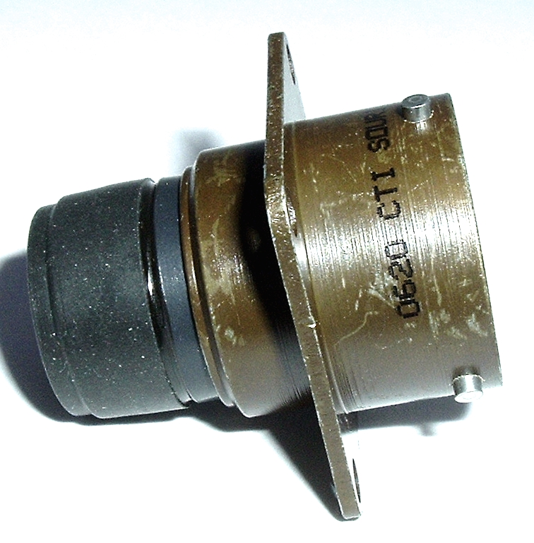 851-02R14-18P50 Square Flange Receptacle Connector MIL Souriau®
