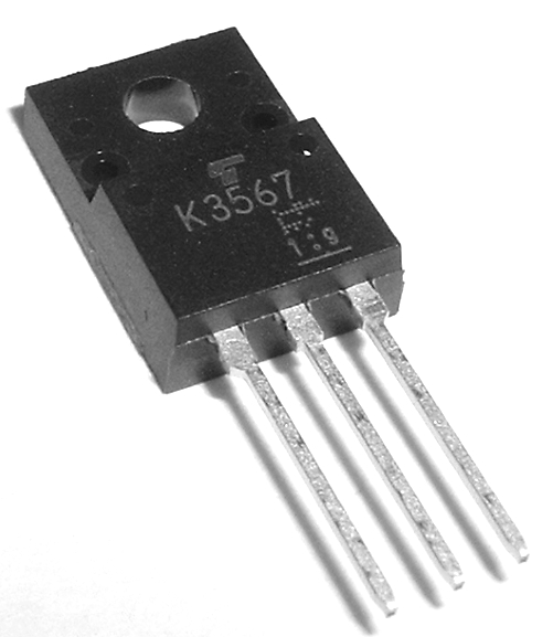 2SK3567 3.5A 600V N-Channel MosFET Transistor Toshiba®