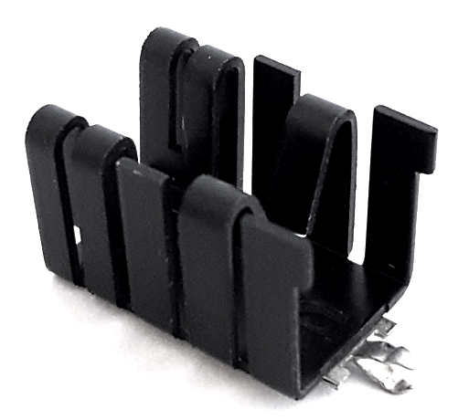 TO220 Clip On Heat Sink Vertical Mount Aavid Thermalloy® 591302B02800G