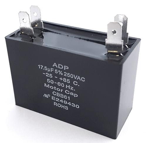 17.5uF 250VAC 5% Motor Run Capacitors ADP250C1755J