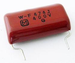 .47uF 400V Radial Polypropylene Capacitor Panasonic® ECW-F4474JRS