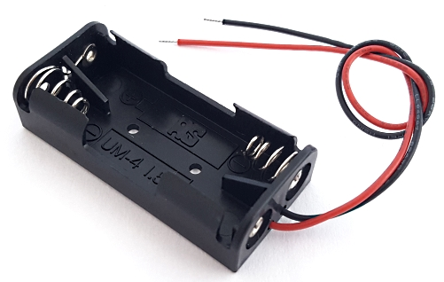 Battery Holder with Lead Wires Dual AAA Power Dynamics® PDSN-24A