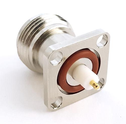 RFN-1021-22 RF Coaxial Connector Panel Mount RF Connectors®