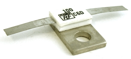 150W 100 Ohm 5% RF Microwave Resistor EMC Technology, Inc.® 31-1125-100-5