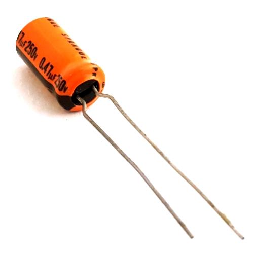 0.47uF .47 UF 250V Miniature Radial Electrolytic Capacitor Sprague® 515D474M250AA7K