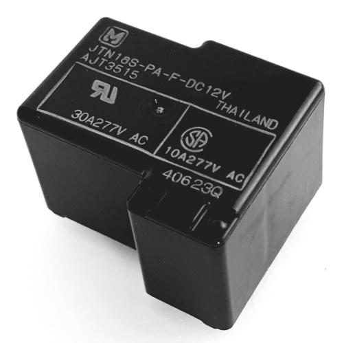 30A 12V SPST Power Switching Relay Panasonic® JTN1A-PA-F-DC12V