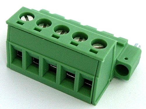 5 position 12A Terminal Block Plug Connector Phoenix Contact® 1825349