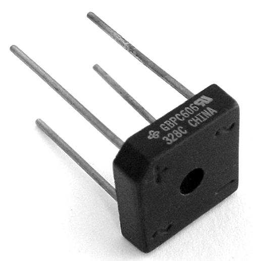6A 6 Amp 600V Bridge Rectifier GBPC606 Silicon