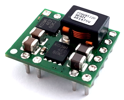 PTH08T220WAH DC DC Converter Adjustable Power Module 0.69-5.5V 16A T.I.®