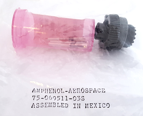 75-069511-03S Military Connector Circular with Pins Amphenol®