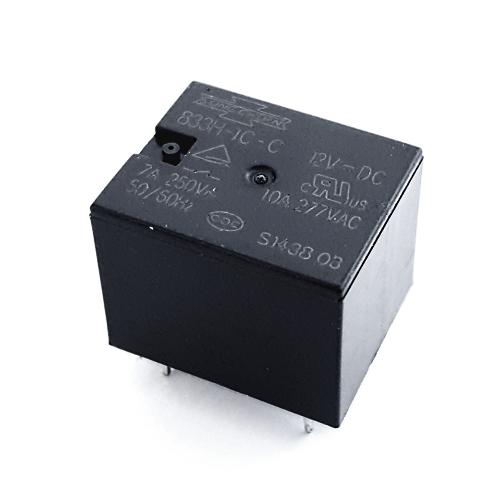 10A 12V PCB Relay Miniature General Purpose Song Chuan® 833H-1C-C12VDC