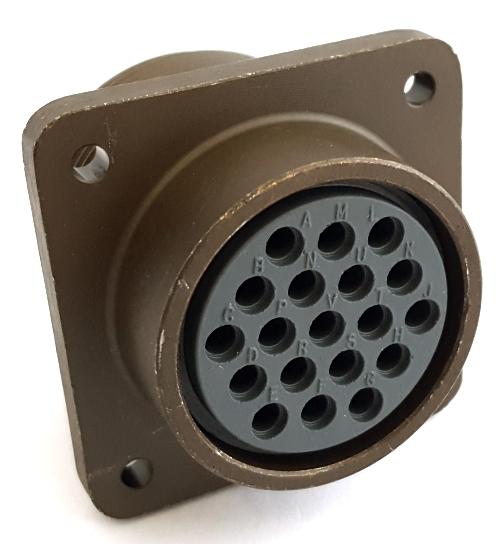 CA3102E22-14PWF80 Circular Receptacle Connector MIL ITT Cannon®