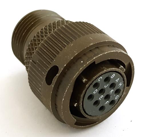 KPT06A12-10S Circular Connector Plug MIL ITT Cannon®