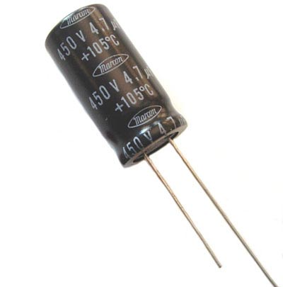4.7uF 450V Radial Electrolytic Capacitors