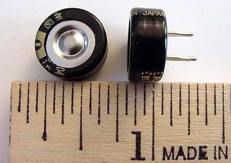 0.047F .047F .047 Farad 5.5V Memory BackUp Capacitors EECFSR5V473