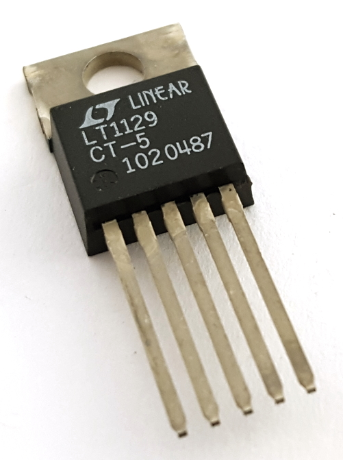 LT1129CT-5 700mA 5V Low Dropout Voltage Regulator