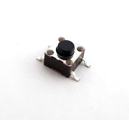 Tactile Switch 12V 0.05A SMT Momentary SPST N.O, E-Switch® TL3301AF160QG