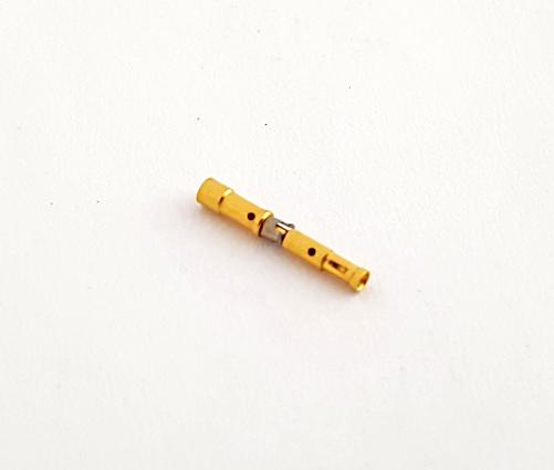 WS22Y22C000 Crimp Connector Socket Gold Contact Size 22 Hughes®