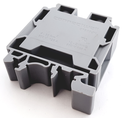 2 Position Terminal Block Connector Feed Through Altech® CTS35UN