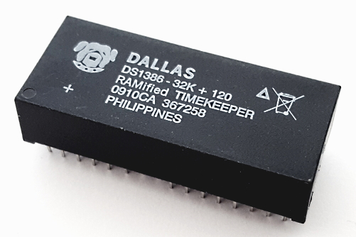 DS1386-32-120+ 32kB RAMified Watchdog Timekeeper IC Dallas®