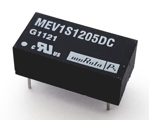 MEV1S1205DC 1W 5V 200mA Single Output DC-DC Converter IC Murata®