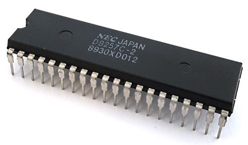 D8257C-2 Programmable DMA Controller Memory IC NEC®