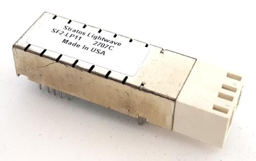 SF2-LP11 3.3V 1300nM LED 2 x 5 Optical Fiber Transceiver Stratos Lightwave®