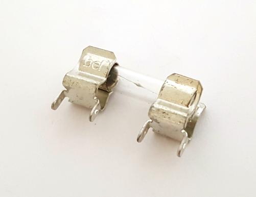 T5L250V 5A 250V Time Lag Fuse with Clips Bel