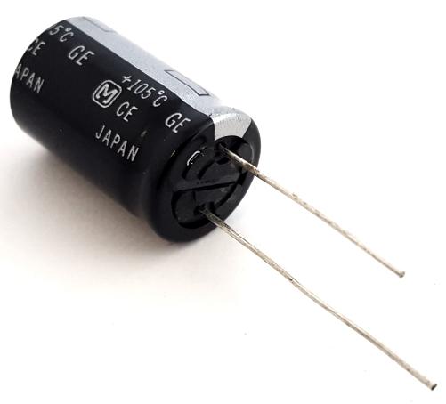 33uF 350V Radial Electrolytic Capacitor Panasonic® ECA2VHG330