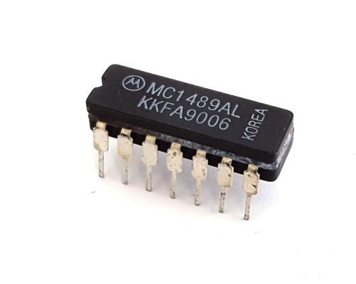 MC1489AL Quad Line Receiver Logic IC Motorola®
