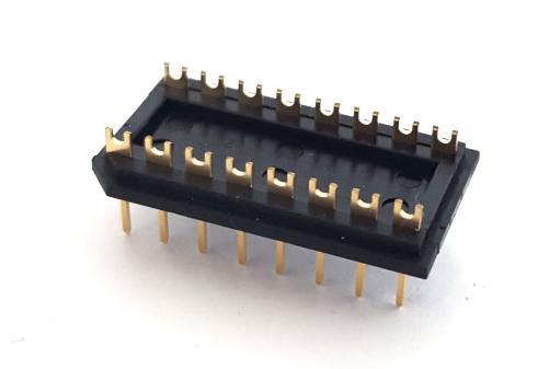 16 Pin Dip Header Plug Adapter Assembly Robinson Nugent® MPB-163