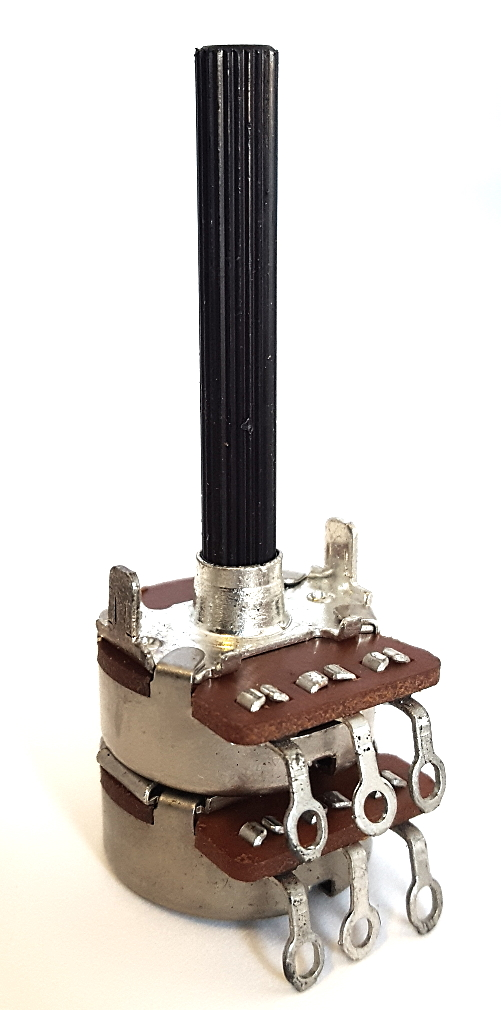 1K ohm 10K ohm Linear Dual Potentiometer CTS 1378044