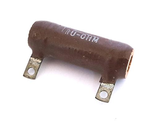 30W 4.7 ohm Power Wire Wound Resistor Tru-Ohm® RW31V4R7
