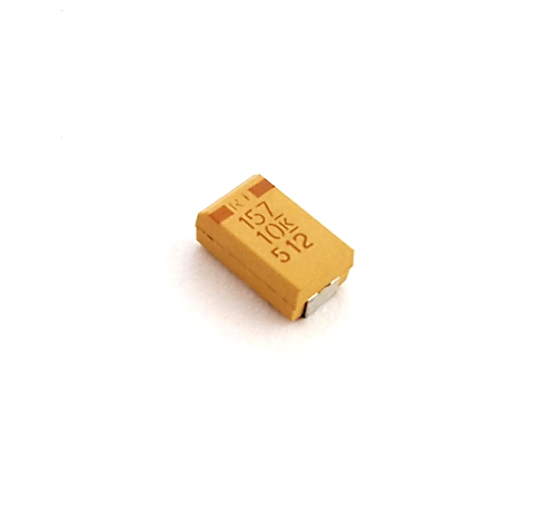 150uF 10V Surface Mount Tantalum Capacitor Kemet® T494D157K010AS