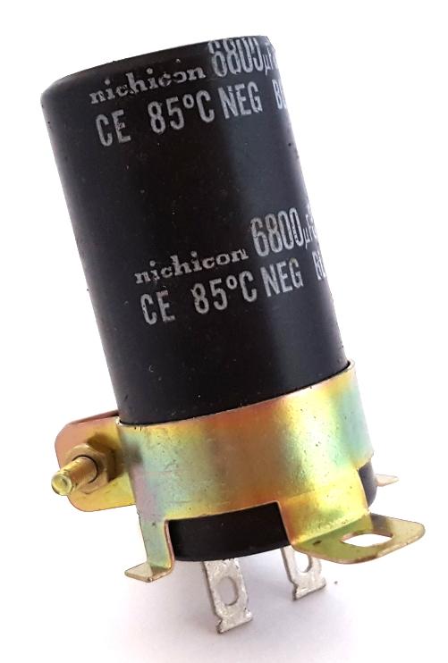 6800uF 35V Radial Electrolytic Capacitor Nichicon®