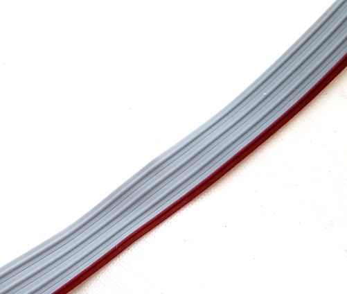 28 AWG 4 Conductor Ribbon Cable Gray 100 ft. Molex® 0082286041