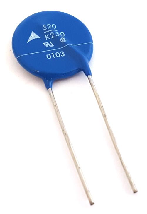MOV 250V AC 10,000A Metal Oxide Varistor S20K250E2 Epcos®