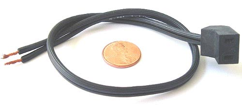 Fan Power Cord 115V  Molded Plug 18 AWG 12 Long