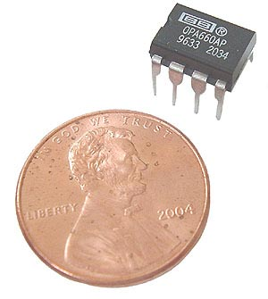 OPA660AP  Op Amp and Buffer  Texas Instruments IC