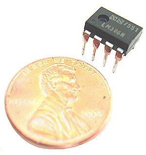 LM386L LM386 L  Audio Power AMPLIFIER  8 pin DIP Low Volt IC
