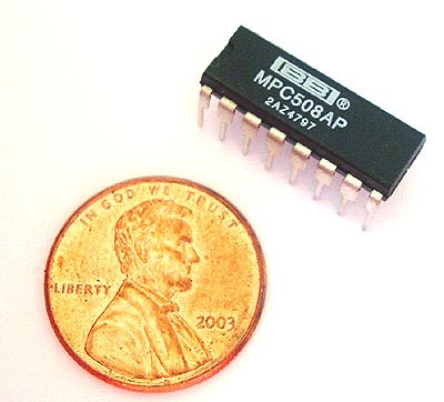 MPC508AP MPC508 AP Analog Multiplexer CMOS IC