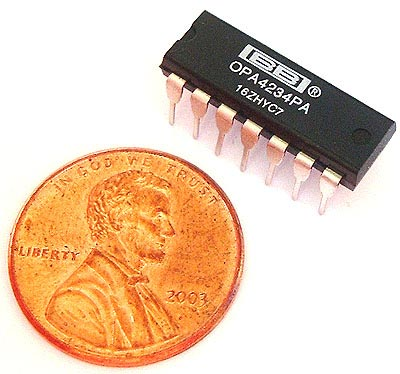 OPA4234PA OPA4234 PA Texas Instruments® OP AMP IC Burr Brown®