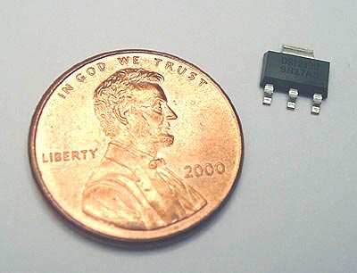 DS1233DZ-5 EconoReset  5V SOT223 Package Dallas IC
