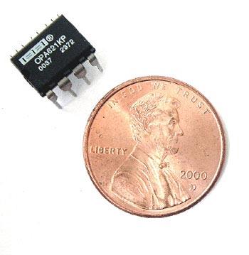 Op Amp  Texas Instruments®  OPA621KP OPA621 KP Wideband Precision