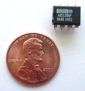 ADS1286PB ADS1286 PB Texas Instruments A-D Converter 12 Bit IC