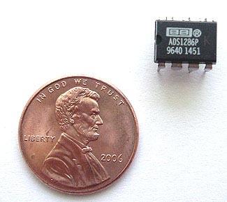 ADS1286PK ADS1286 PK Texas Instruments A-D Converter 12 Bit IC