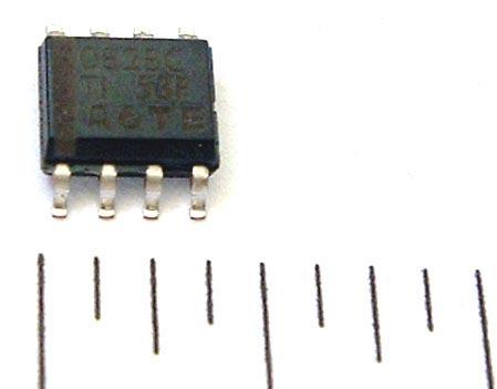 Surface Mount OP AMP  TL082BCD  SMT OP AMP JFET